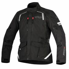 Alpinestars Andes V2 Drystar Waterproof Textile Touring Motorcycle Black Jacket