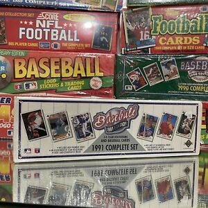 1991 Upper Deck Baseball Cards Complete Set Factory Sealed Box