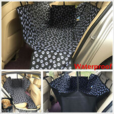 Pet Dog Seat Safety Hammock Car Van Back Seat Protector Cover Cushion Waterproof
