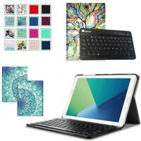 For Samsung Galaxy Tab A 10.1 SM-T580/T585 Case Stand Cover + Bluetooth Keyboard