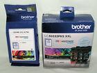 Genuine+Brother+LC30333PKS+%26+LC3035BK+XXL+INKvestment+Color+%26+Black++Ink+Tanks