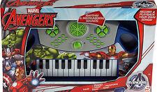 MARVEL AVENGERS BAMBINO musicali pianoforte giocattolo - A BATTERIA TASTIERA ELETTRONICA