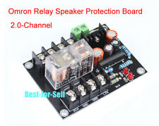 UPC1237 Speaker Protection Board AC12V-24V OMRON Relay Stereo 2 channels for AMP
