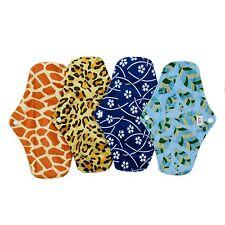 Alva Baby Antibackerial Charcoal Bamboo Reusable Menstrual Pads/Sanitary Pads...