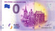Billets Euro Schein Souvenir Touristique 2019 Welterbe Aachener Dom
