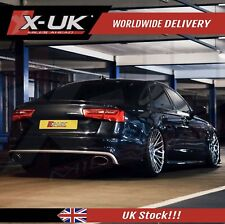 Rear diffuser for AUDI A6 SE C7 2011-2015 (NEW exhaust tips design)