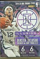 2019-20 Panini Illusions Basketball Blaster Box ZION JA ROOKIE Prizm Chronicles