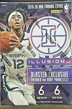 2019-20 Panini Illusions Basketball Blaster Box ZION JA ROOKIE Prizm Chronicles