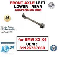 Eje delantero izquierda inferior trasero brazo de Suspensión para BMW x 3 4 OEM