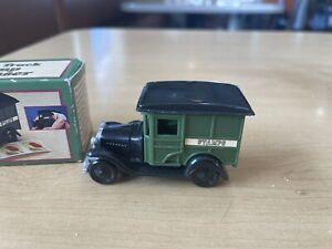 Vintage Unused Postal Truck Postage Stamp Dispenser Holds100 Stamps In Box