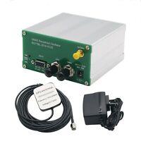 2020 10MHZ OUTPUT SINE WAVE GPS DISCiPLINED CLOCK GPSDO + Antenna+ Power supply