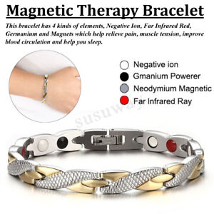 Magnetic Therapy Bracelet Carpal Tunnel Relief Arthritis Chronic & Pain