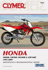 1992-2009 Honda XR80R CRF80F XR100R CRF100F Repair Manual 05 2006 2007 2008 M222