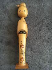 Vintage Japanese wooden doll