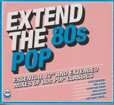 Extend The 80's Pop Various 3 CD Set Sealed Kylie, Amii Stewart, M, Madness 2018