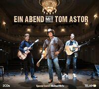 TOM ASTOR - EIN ABEND MIT TOM ASTOR  2 CD NEU