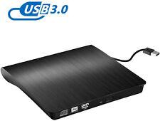 Grabadora CD / DVD Externa, Rodzon Lector DVD-RW conectada por USB  (Negro)