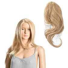[in.tec]® Perücke Blond Langhaarperücke Kunst Haar Damenperücke Lang Glatt 61cm