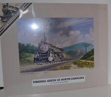 Print Virginia Green North Carolina 79/300 Kotowski Train COA Limited Edition