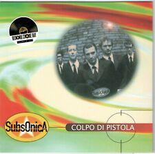 """SUBSONICA - COLPO DI PISTOLA / UFO 20° Anniversario - 7 """" VINILE ARANCIONE NUOVO"""