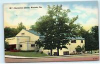 Gym Recreation Center Building Marietta Georgia GA old Vintage Postcard B07