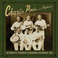 CHARLIE POOLE & THE HIGHLANDERS ‎– THE COMPLETE PARAMOUNT VINYL LP (NEW/SEALED)