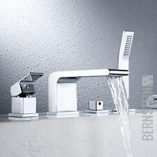 Wannenrandarmatur Fliesenrandarmatur Design 4-Loch Badewannenarmatur