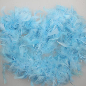 2M Feather Boas Strip Fancy Dress Craft Costume Dressup Party Performance Decor