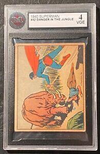 1940 Superman #42 Danger In The Jungle KSA 4 VGE !  RARE !