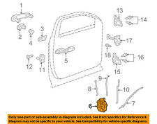 GM OEM Front Door-Lock Actuator Motor 13579523