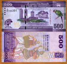 Sri Lanka, 500 Rupees, 2013,  P-New, UNC > Limited Commemorative, T/51