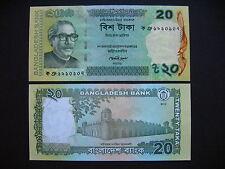 BANGLADESH  20 Taka 2012  (Pnew)  UNC