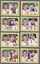 1988-89 Panini NHL Hockey Sticker Lanny McDonald #10 Calgary Flames