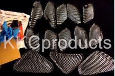 2012-2016 Ninja ZX14R 13pc WEP ZX14 ZX 14 Chrome Fairing Grilles Screens Vents