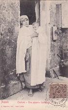 * NAPOLI - Costumi - Una Zingara Indovina 1906