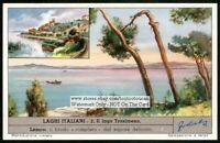 Italy Lake Lao LacTrasimeno History Italianc50 Y/O Trade Ad Card