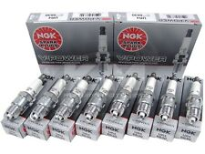 (SET OF 8) NGK 6630/UR4 V-POWER PREMIUM SPARK PLUGS MADE IN JAPAN