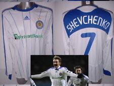 Dynamo Kiev SHEVCHENKO Adidas BNWT Large L/S Soccer Shirt Jersey New Kyiv Dinamo