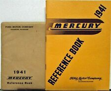 1941 Mercury 8 Series 19A Owners Manual Reference Book Original With Envelope