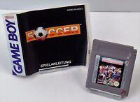 Nintendo Game Boy GB - Soccer + Anleitung