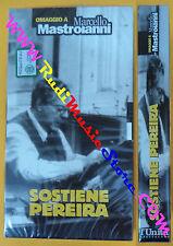 film VHS SOSTIENE PEREIRA sigillata Marcello Mastroianni L'UNITA' (F104) no dvd
