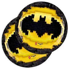 Piatti Carta Batman Lego 23 cm Film costruzioni Party Festa Compleanno 9901822
