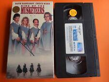 Ring of the Musketeers (VHS, 1994) David Hasselhoff, Cheech Martin