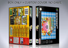 KIRBY 64. PAL VERSION. Box/Case. Nintendo 64. BOX + COVER. (NO GAME).