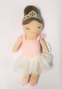 Mud Pie E1 Baby Girl Unicorn Princess Rattle Doll Toy 10190126 Choose Design
