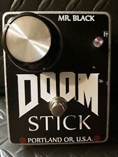 Mr. Black DOOM STIICK 1 Pedal Fuzz Doom Sludge Death Grunge Distortion!