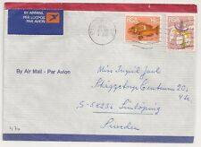 COVER SOUTH AFRICA PIET RETIEF  TO SWEDEN. L470