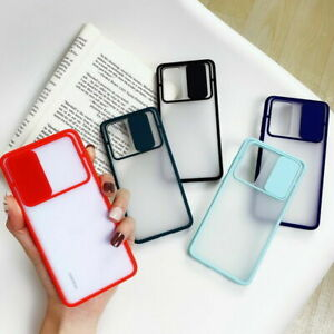 Slide Camera Lens Protector Shockproof Cover For Samsung Galaxy S20FE S20 S21+