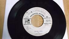 "Link Davis Cajun Love Columbia 21431 PROMO VG White Label 1955 45RPM 7"" Single"