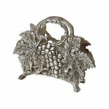 Fruits Pattern Aluminium Metal Napkin Holder (15.3 cm x 5.1 cm x 10.2 cm, Multic